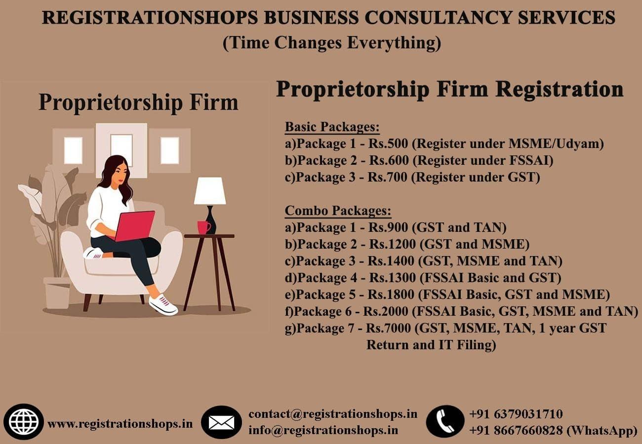 Proprietorship Firm Registration